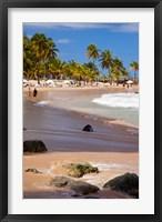 Framed Coronado Beach in San Juan, Puerto Rico