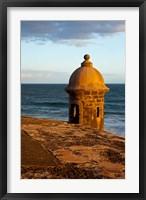 Framed Sentry Box, El Morro Fort, San Juan, Puerto Rico