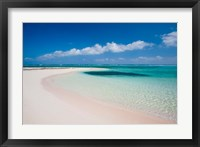 Framed Sandy Point, Little Cayman, Cayman Islands, Caribbean