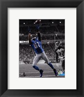 Framed Calvin Johnson 2014 Spotlight Action