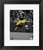 Framed Randall Cobb 2014 Spotlight Action