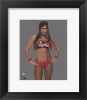 Framed Nikki Bella 2014 Posed