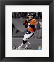 Framed Peyton Manning 2014 Spotlight Action