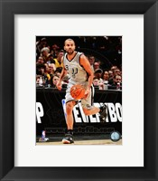 Framed Tony Parker 2014-15 Action
