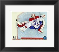 Framed Carey Price 2014-15 goalie