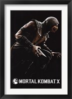 Framed Mortal Kombat X - Scorpion
