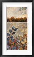 Framed Gilded Horizon I