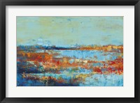 Framed Shoreline Glimmer I
