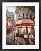 Framed Parisian Stroll