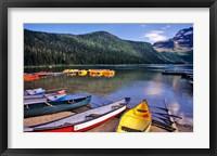 Framed Cameron Creek, Wateron Lakes National Park, Alberta, Canada