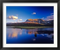 Framed Sofa Mountain in Beaver Pond, Waterton Lakes NP, Alberta