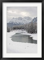 Framed Icefields Parkway, Jasper National Park, Alberta, Canada
