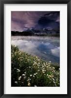 Framed Alberta, Banff National Park Lake Maligne
