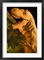 Framed Royal Tyrrell Museum of Palaeontology, Drumheller, Alberta, Canada
