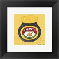 Marmite Framed Print
