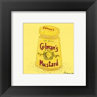 Mustard Pot Framed Print
