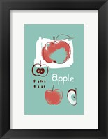 Apple Study Framed Print