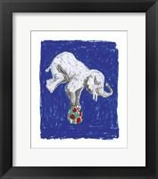 Elephant Balance Framed Print