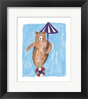Bear Balance Framed Print