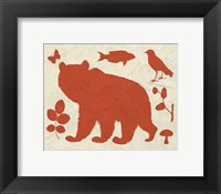 Framed Woodland Creatures III