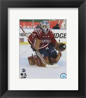 Framed Braden Holtby 2015 NHL Winter Classic Action