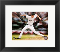 Framed Chris Sale Motion Blast