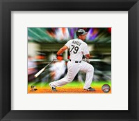 Framed Jose Abreu Motion Blast