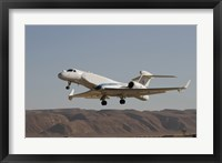 Framed Gulfstream Nachshon-Eitam of the Israeli Air Force taking off