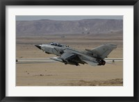 Framed Panavia Tornado of the Italian Air Force