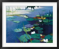 Framed Water Lilies