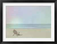 Framed Serene Beach