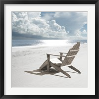 Framed Solitary Beach Chair