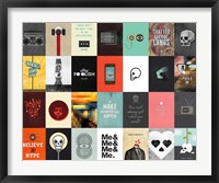 Music Technology Media Framed Print