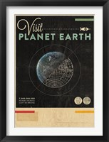 Framed Visit Planet Earth