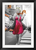 Framed Marilyn in the City