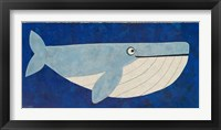 Framed Wendell the Whale