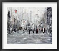 Framed City Scape