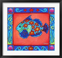 Framed Mosaic Fish