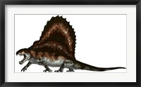 Framed Dimetrodon, a Synapsid that was an Apex Pradator