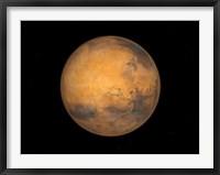 Framed Planet Mars