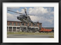 Framed Sea Lynx and Sea King Helicopters of the German Navy