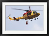 Framed CH-146 Griffon of the Canadian Forces