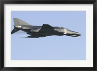 Framed F-4F Phantom of the German Air Force in flight