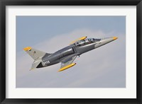 Framed Czech Air Force AERO L-39C Albatros Jet Trainer