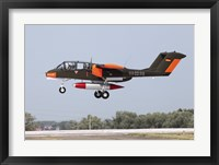 Framed Rare OV-10 Bronco in German Air Force Markings