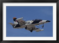 Framed L-39ZA Albatros Used as a Threat Simulation Aircraft with a FLIR Turret