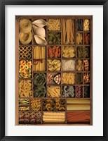 Framed Pasta Basta III