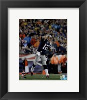 Framed Tom Brady AFC Championship Game Action 2014 Playoffs