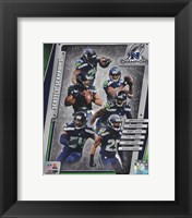 Framed Seattle Seahawks 2014 NFC Champions Team Composite