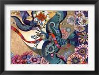 Framed Jaunty Spring